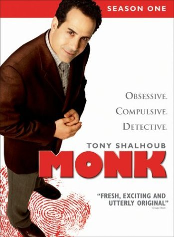 Monk Season 1 DVD