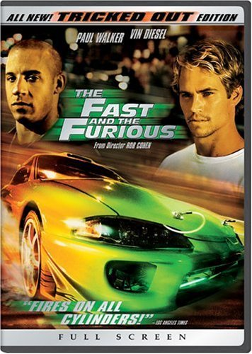 Fast & The Furious Fast & The Furious Diesel Walker Brewster Rodriguez Pg13 Tricked Out