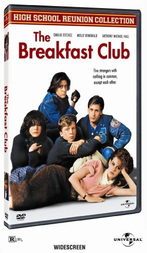 Breakfast Club Ringwald Estevez Hall Nelson Clr Ws R