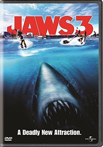 Jaws 3 Quaid Armstrong Gossett Thomps DVD Pg Ws