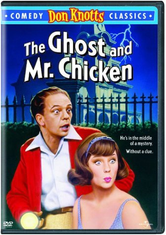 The Ghost & Mr. Chicken Knotts Staley DVD Nr