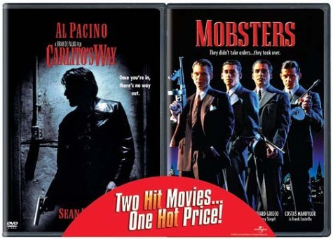 Carlitos Way Mobsters Universal 2 Pak Clr R 2 DVD Side By