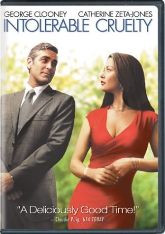 Intolerable Cruelty Clooney Zeta Jones Rush Thornt Clr Pg13