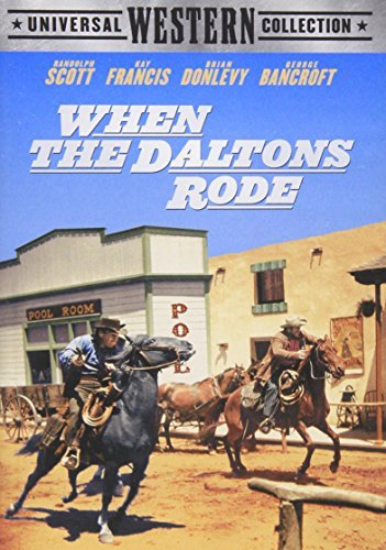 When The Daltons Rode Scott Francis Donlevy Bancroft Clr Snap Nr