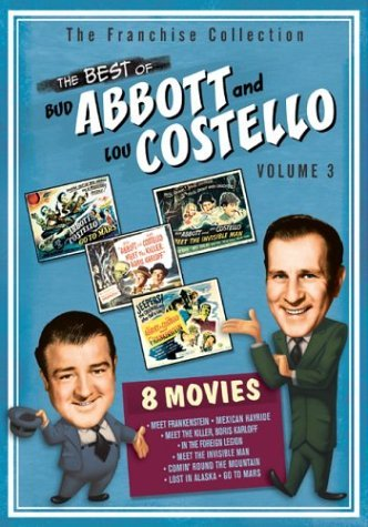 Vol. 3 Best Of Abbott & Costel Abbott & Costello Nr 2 DVD