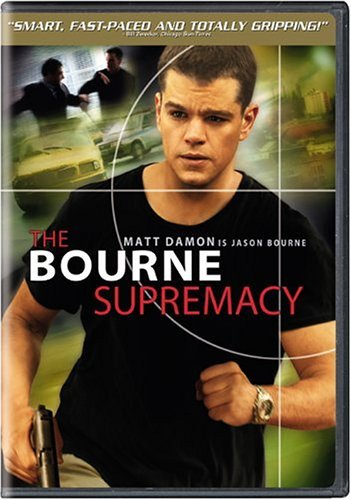 Bourne Supremacy Damon Potente Stiles Cox Allen Clr Pg13