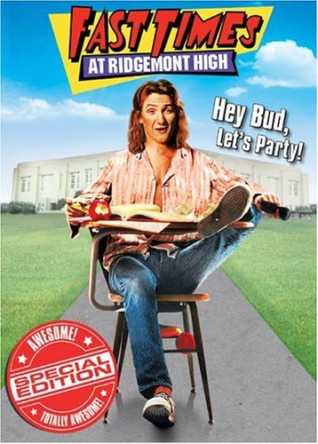 Fast Times At Ridgemont High Penn Leigh Reinhold Romanus DVD R