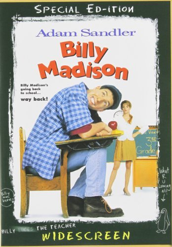 Billy Madison Sandler Mcgavin DVD Pg13 Ws