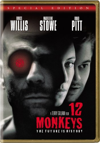 12 Monkeys Willis Pitt Stowe DVD R Ws