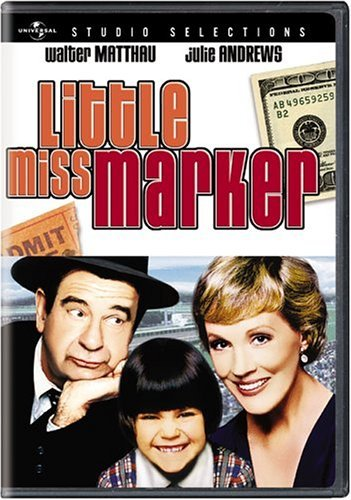 Little Miss Marker Matthau Andrews Stimson Curtis Pg