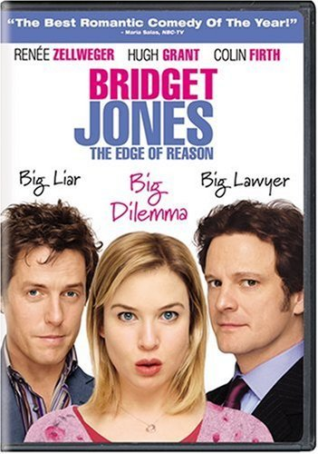 Bridget Jones Edge Of Reason Zellweger Firth Grant Barrett DVD R Ws