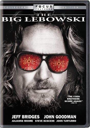 Big Lebowski Bridges Goodman Buscemi Moore DVD R Ws