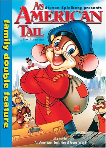 American Tail Fievel Goes West Double Feature DVD G