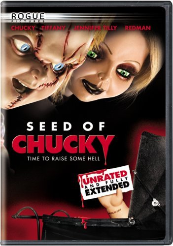 Chucky Seed Of Chucky Dourif Tilly Boyd Spearritt DVD Unrated Ws