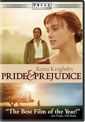 Pride & Prejudice (2005) Knightley Riley Pike DVD Pg Ws