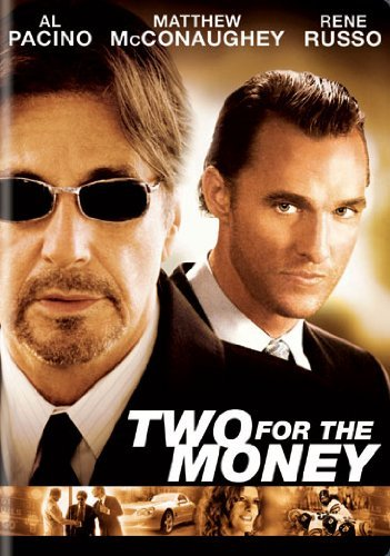Two For The Money Pacino Russo DVD R