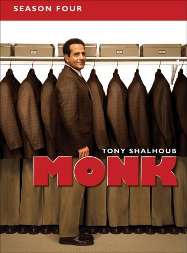 Monk Season 4 DVD