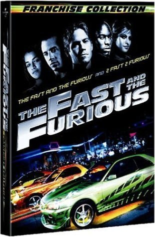 Fast & The Furious Franchise Collection Nr 3 DVD Franchi