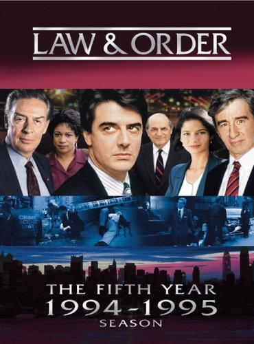 Law & Order Season 5 Clr Nr 5 DVD