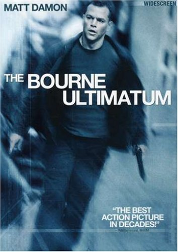 Bourne Ultimatum Damon Matt Ws Pg13