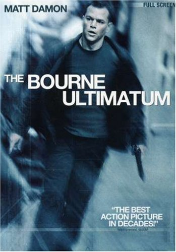 Bourne Ultimatum Damon Matt Pg13