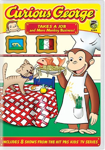 Curious George Takes A Job & More Monkey Busi Nr