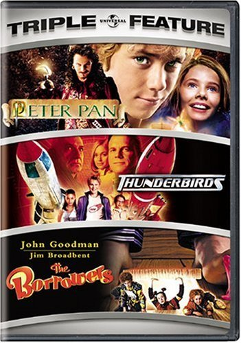 Peter Pan Thunderbirds Borrowe Universal Triple Features Ws Nr 3 On 2