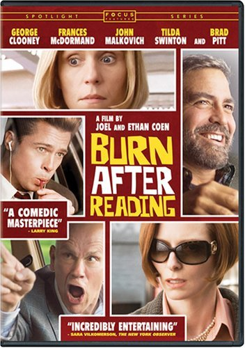Burn After Reading Pitt Clooney Malkolvich R