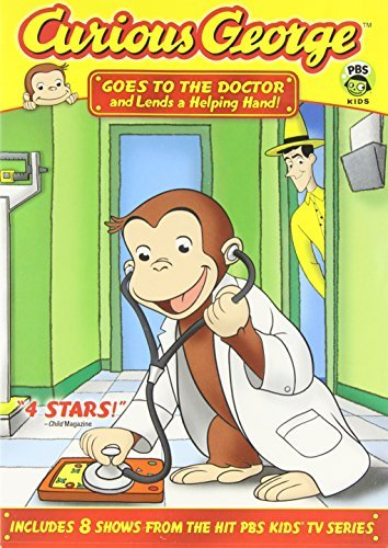 Curious George Goes To The Doctor & Lends A H Nr