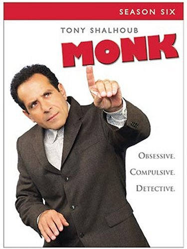 Monk Monk Season 6 Ws Nr 4 DVD