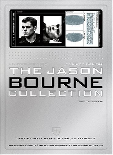 Bourne Jason Bourne Collection Jason Bourne Collection DVD Pg13