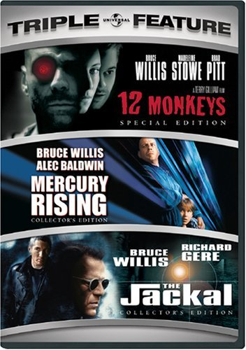 12 Monkeys Mercury Rising Jack Universal 3pak Ws R 3 DVD
