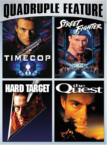 Hard Target Quest Street Fight Van Damme Action Pack Quadrupl Nr 2 DVD