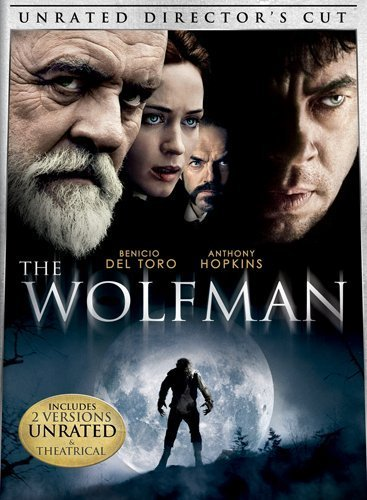 Wolfman (2010) Del Toro Hopkins Blunt Weaving Ws Ur R