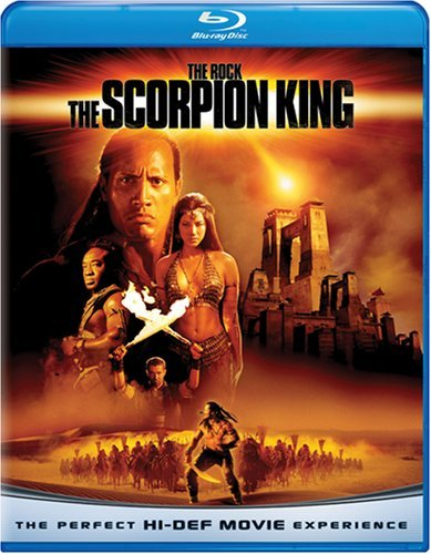 Scorpion King Rock Brand Hu Blu Ray Ws Pg13