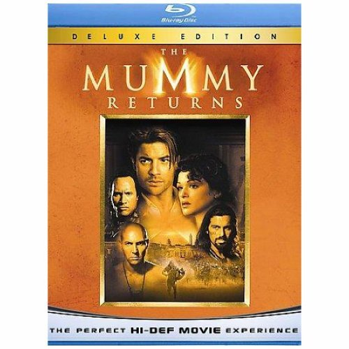 Mummy Returns Fraser Weisz Rock Hannah Voslo Blu Ray Ws Pg13