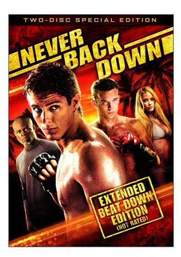 Never Back Down Faris Hounsou Gigandet Ws Special Ed. Pg13 2 DVD