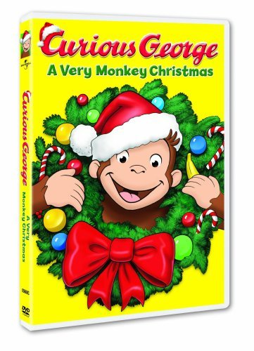 Very Monkey Christmas Curious George Ws Nr