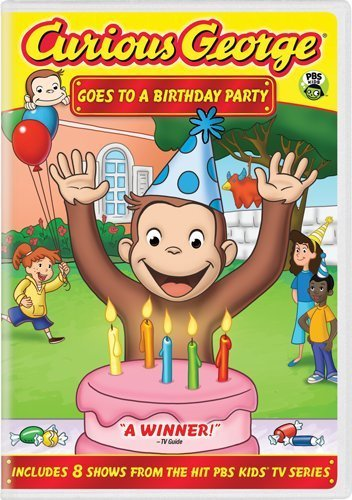 Curious George Goes To A Brithday Party Nr