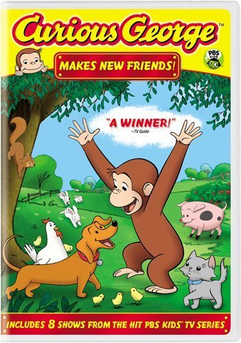 Curious George Makes New Friends Nr