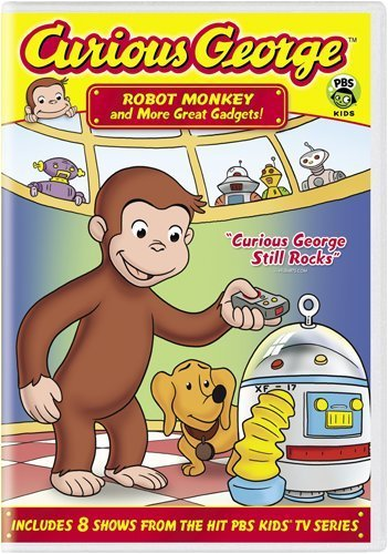 Curious George Robot Monkey & More Great Gadg Nr