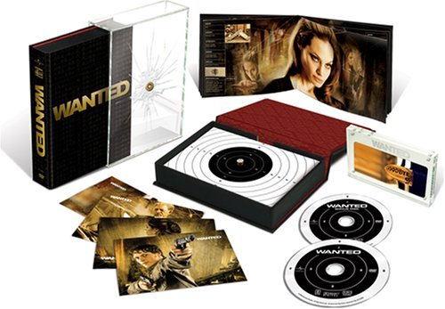 Wanted Mcavoy Freeman Jolie Ws Gift Set R