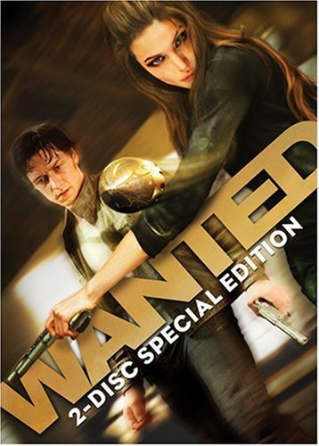 Wanted Mcavoy Freeman Jolie Ws Special Ed. R 2 DVD