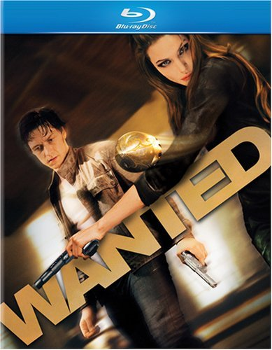 Wanted Mcavoy Freeman Jolie Blu Ray Ws R