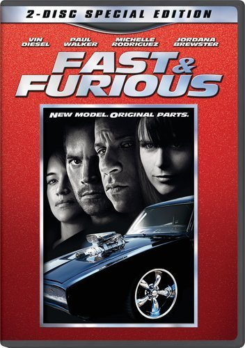Fast & The Furious Fast & Furious (2009) Diesel Walker Brewster Rodriguez Pg13