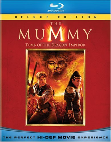 Mummy Tomb Of The Dragon Emperor Fraser Li Yeoh Blu Ray Ws Pg13 2 Br