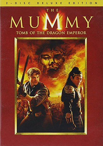 Mummy Tomb Of The Dragon Emper Fraser Li Yeoh Pg13 2 DVD