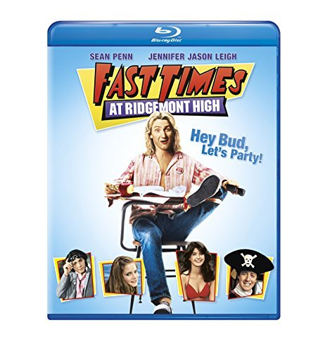 Fast Times At Ridgemont High Penn Leigh Reinhold Romanus Blu Ray Ws R