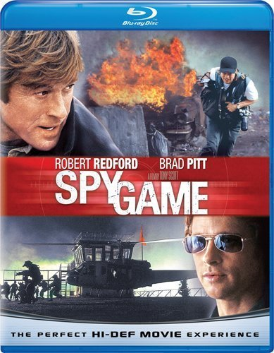 Spy Game Pitt Redford Blu Ray Ws R