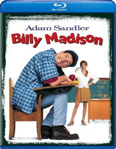 Billy Madison Sandler Mcgavin Blu Ray Ws Pg13